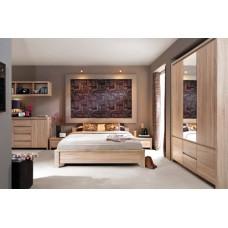 Спальня KASPIAN (дуб сонома) BRW