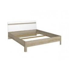 Кровать ЛИБЕРТИ  LOZ160 (каркас) BRW