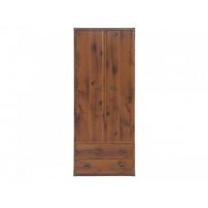 Шкаф платяной JSZF2D2S80 INDIANA BRW