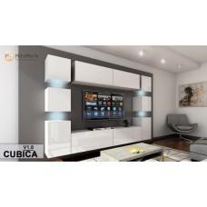 Гостиная стенка Cubica В1 - МироМарк
