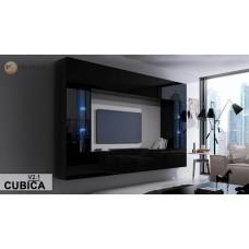Гостиная стенка Cubica В2 - МироМарк