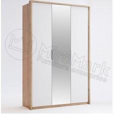 Шкаф 3ДВ Асти(Asti) с зеркалом - МироМарк