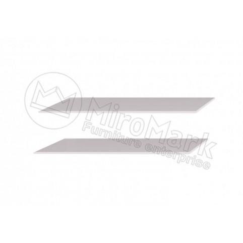 Опция Полки большие (2шт) в Шкаф-Купе 2.5м Асти(Asti)-МироМарк
