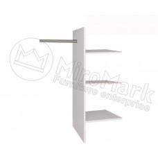 Опция 3+4+6дв Полки Т- подобные в Шкаф Асти(Asti)-МироМарк