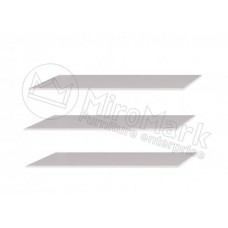 Опция 3+4+6дв Полки большие (3шт) в Шкаф Асти(Asti)-МироМарк