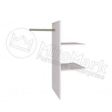 Опция Полки Т-подобные в Шкаф-Купе 2.0м Асти (Asti)-МироМарк