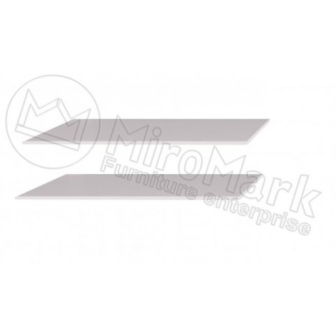 Опция Полки большие (2шт) в Шкаф-Купе 2.0м Асти (Asti)-МироМарк