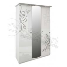 Шкаф 3дв Богема(Bogema)с зеркалом-МироМарк
