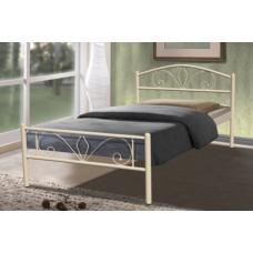 Кровать Релакс (Бежевая) серия Айрон Лайн - Микс Мебель