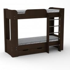 Кровать двухярусная Твикс-2-Компанит