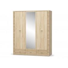 Шкаф 2Д1Дз3Ш Гресс - Мебель Сервис