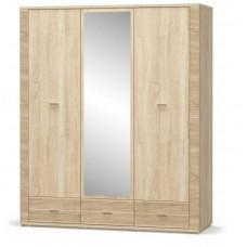 Шкаф 2Д1Дз3Ш Гресс-Мебель Сервис