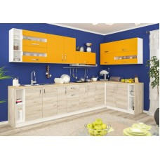Кухня Гамма (ДСП) Мебель Сервис