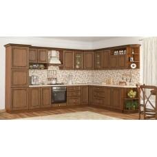 Кухня Гранд (Дуб Золотой) Мебель Сервис