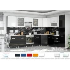 Кухня Кармен (черно-белый)