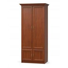 Шкаф 2Д Даллас(Вишня Портофино)-Meбель Сервис