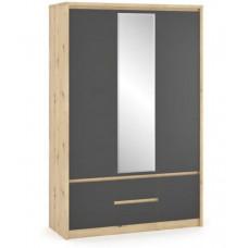 Шкаф 3Д2Ш Доминика-Мебель Сервис