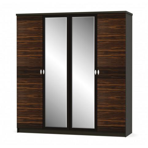 Шкаф 4Д Ева\Макасар-Мебель Сервис