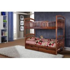 Кровать 2-х ярусная Кира с ящиками Серия Уют - Микс Мебель