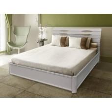 Кровать Мария белая с подъемником серия Мария - Микс Мебель