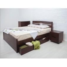 Кровать Ликерия Люкс с ящиками серия Мария - Микс Мебель