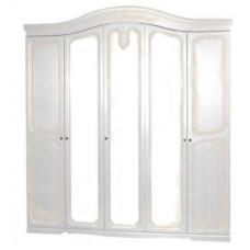 Шкаф 5Д Луиза(Белое Золото)-Свит Меблив