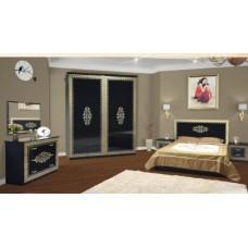 Спальня Cофия (черный лак)  - Свит Мебели