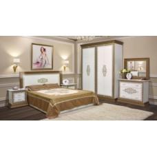Спальня Cофия Люкс (белый лак)  - Свит Мебели