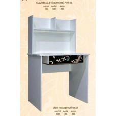 Стол письменный + надстройка Мульти - Свит Мебели