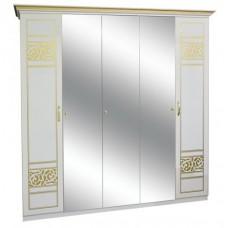 Шкаф 5ДЗ (3 зеркала) Полина Новая - Свит Мебели