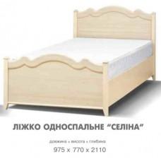 Кровать 1-сп Селіна