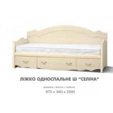 Кровать 1-сп Ш Селіна