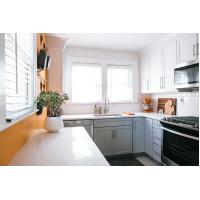 Правильное зонирование в угловой кухне